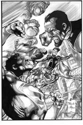 War Of The Supermen 1 Cover by JPMayer