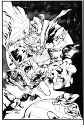 War Of The Supermen 2 Cover by JPMayer