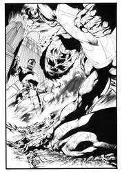 War Of The Supermen 3 Cover by JPMayer