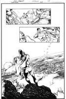 Superman 709 Page 2 Inks by JPMayer