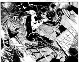 Nightwing 01 Page 02,03 Inks
