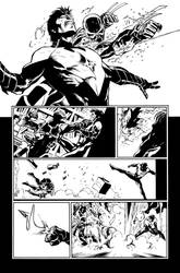 Nightwing 02 Page 18 Inks