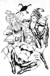 Benes Pin Up Inks