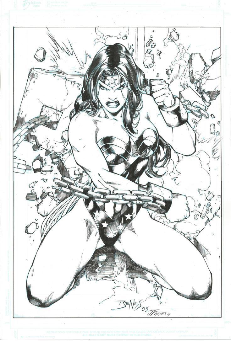 Wonder Woman by JPMayer