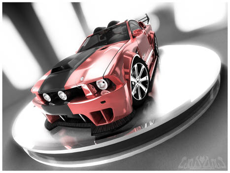 Mustang GT Red Edition