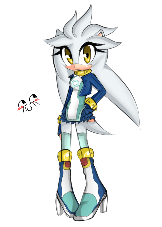 Sonic Fan Characters (recolors are allowed) images Female Silver ...