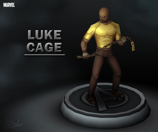 Marvel - Luke Cage by davislim