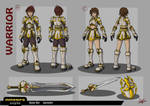 MMORPG Style - Warrior Concept