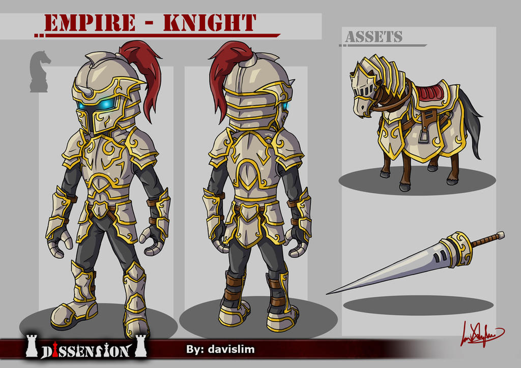 Dissension - Empire Knight Concept by davislim