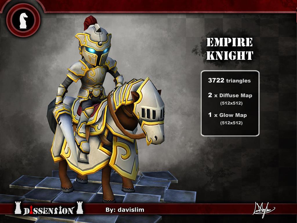 Dissension - Empire Knight Render by davislim