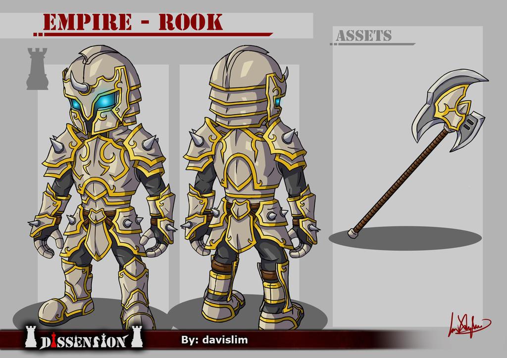 Dissension - Empire Rook Concept by davislim