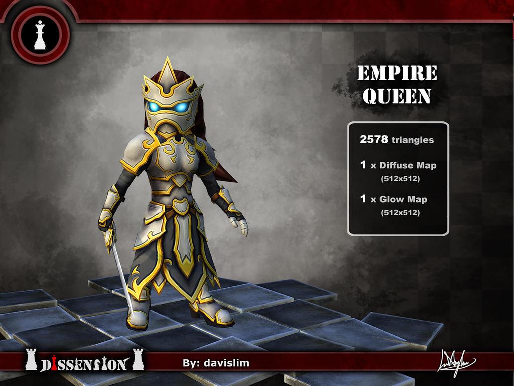 Dissension - Empire Queen Render by davislim