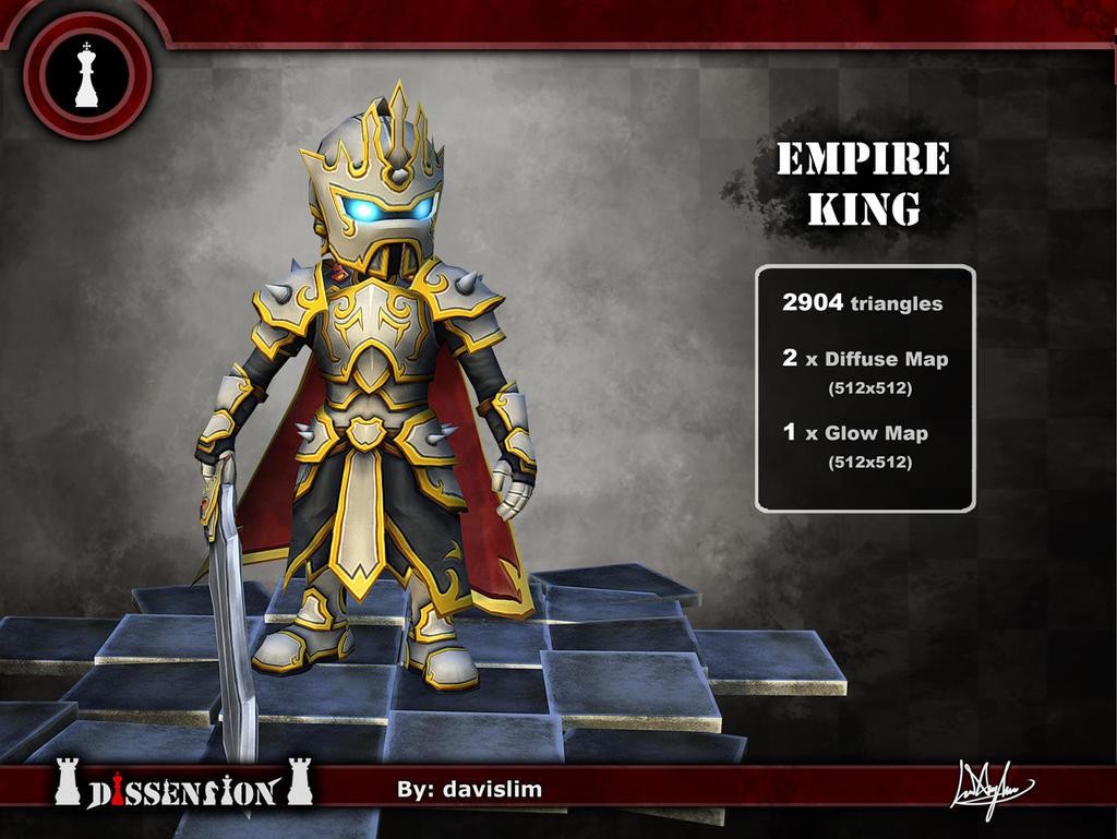 Dissension - Empire King Render by davislim