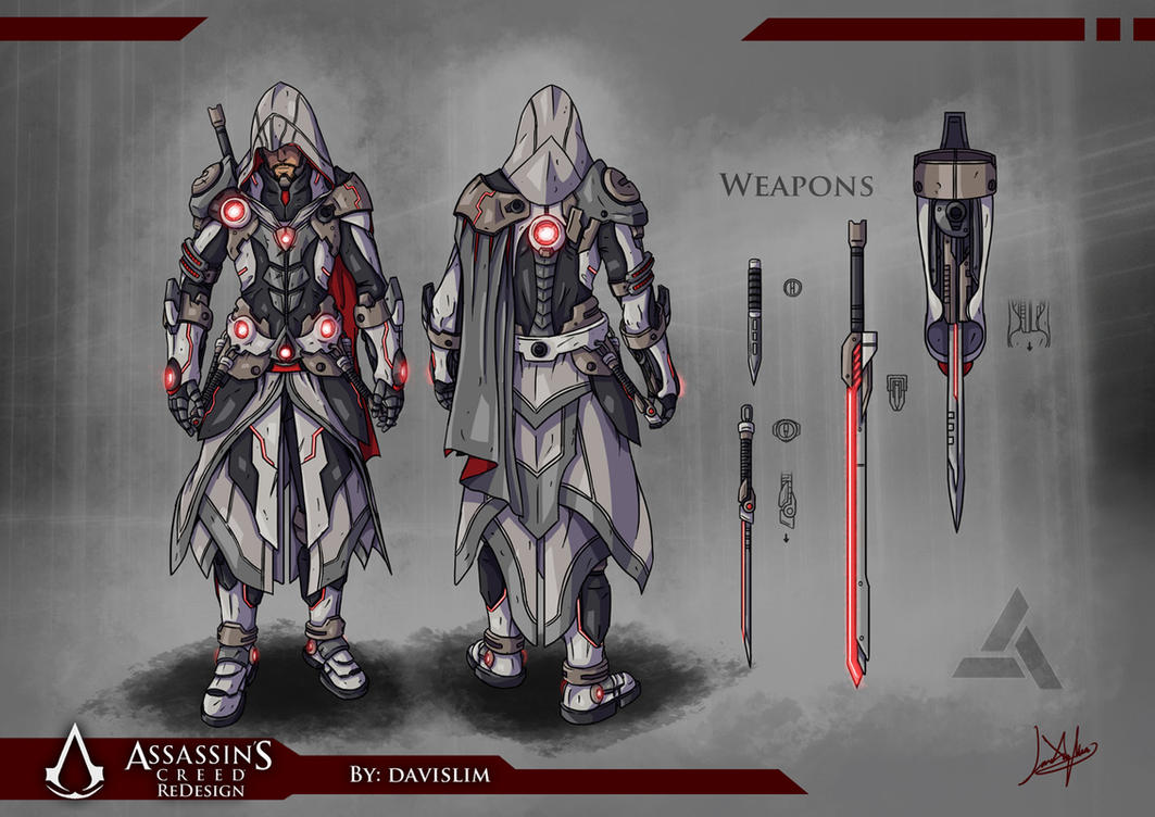 Assassin's Creed Redesign - Concept Art by davislim