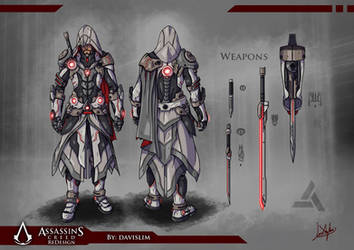 Assassin's Creed Redesign - Concept Art