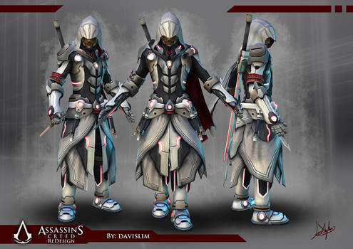 Assassin's Creed Redesign - Beauty Shot by davislim