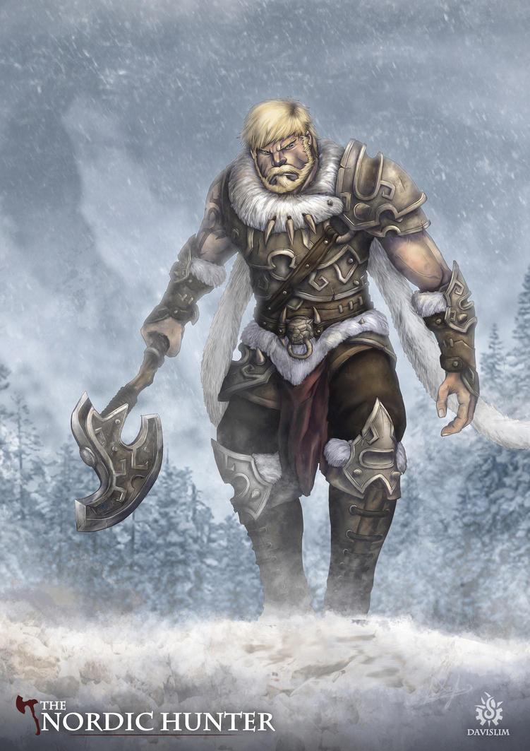 The Nordic Hunter By Davislim On DeviantArt