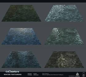Cross-Fate - Water Texturing by davislim