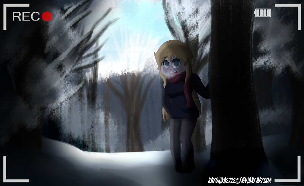 In the Winter Woods by satohika2722
