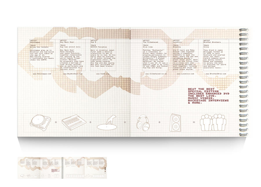 CD booklet I by SDGRAPHICS