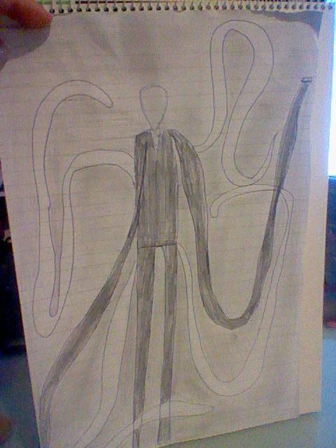 slender man by Nata-Chann