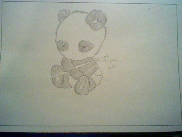 kawaii panda by Nata-Chann