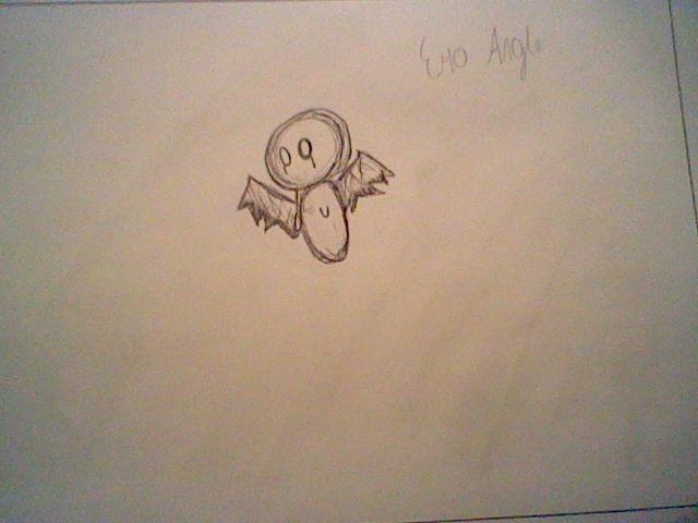 emo angel by Nata-Chann