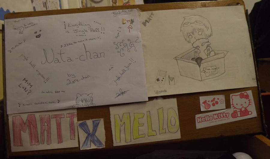 my desk by Nata-Chann