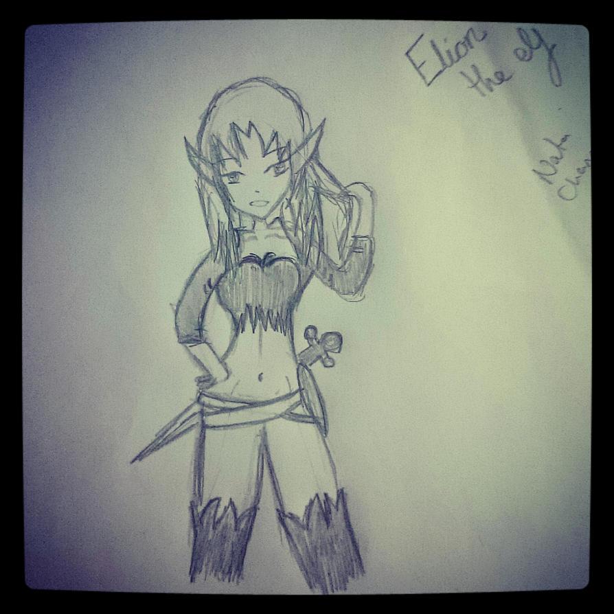 eloin the elf by Nata-Chann