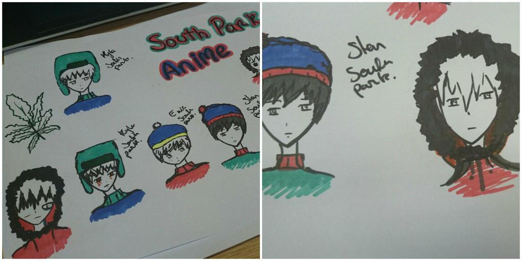 SouthPark Anime by Nata-Chann