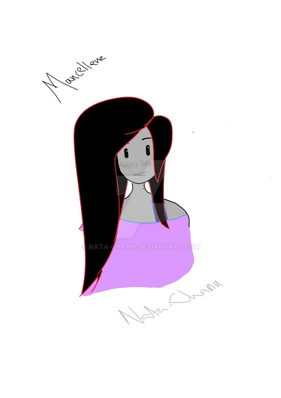Marceline the vampire queen by Nata-Chann