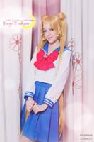 Sailor Moon - School days by AidaOtaku