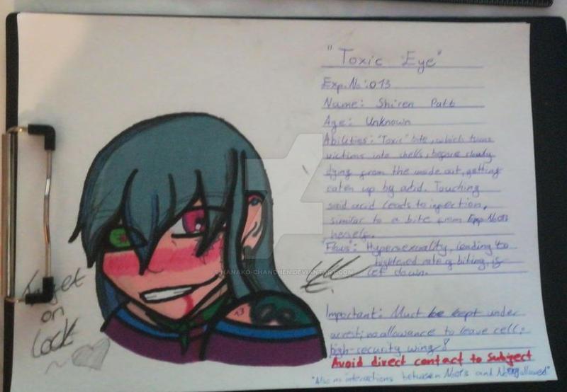 Toxic Eye Exp.No.013 by Nanako-chanchen