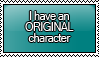 I Have an OC Stamp by KisumiKitsune