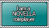 I am a NOVELLA Roleplayer Stamp by KisumiKitsune
