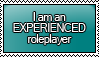 I am an EXPERIENCED Roleplayer Stamp by KisumiKitsune