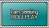 I am Seeking ROLEPLAY Stamp by KisumiKitsune
