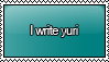 I Write Yuri Stamp by KisumiKitsune