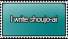 I Write Shoujo-ai Stamp by KisumiKitsune