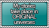 I Write ORIGINAL Stamp by KisumiKitsune