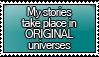 I Write ORIGINAL Stamp by KisumiKitsune