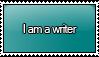 I am a Writer Stamp by KisumiKitsune