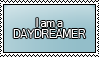 I am a DAYDREAMER Stamp by KisumiKitsune