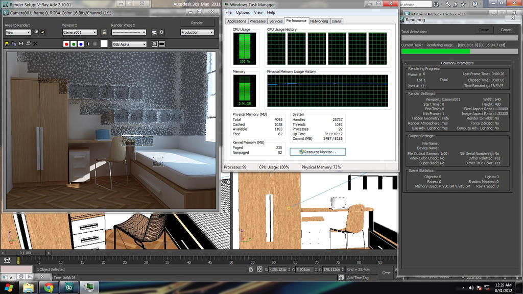 Architectural visualization 3ds max vray render by for 3ds max architectural rendering