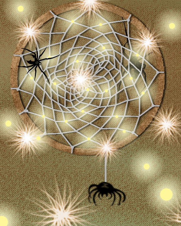 How to make a dream catcher by teghoune on deviantart for How to create a dreamcatcher