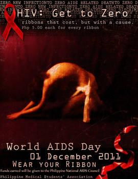 HIV GET TO ZERO POSTER