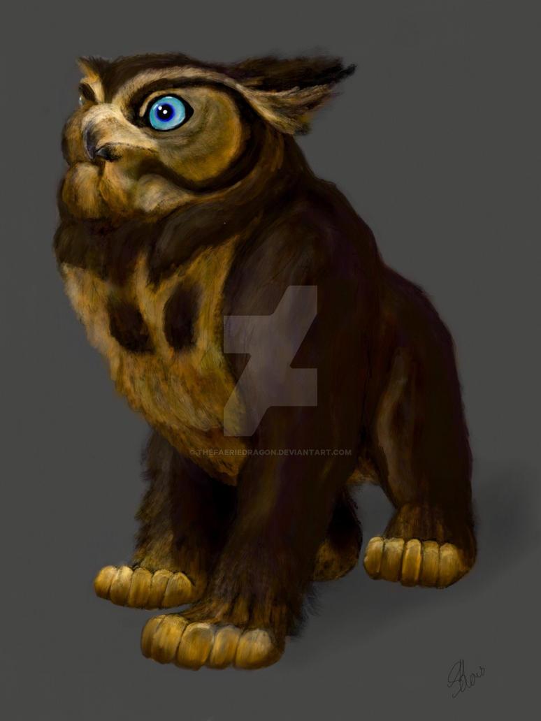 The Owlbear by thefaeriedragon