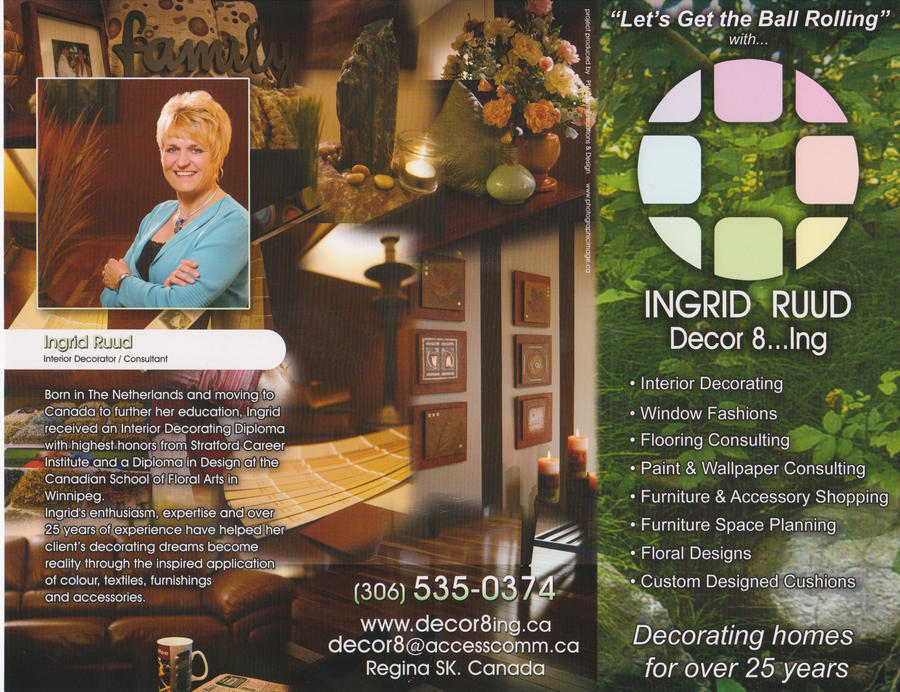 Ingrid Ruud Decor8ing brochure by backflip540
