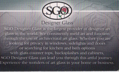SGO Glass BC R