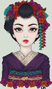Geisha Portrait by insomniac-sundancer
